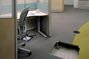 办公室网路地板
